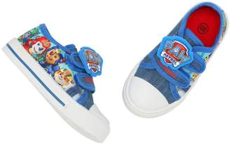M&Co Paw Patrol canvas trainers