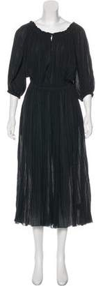 Etoile Isabel Marant Short Sleeve Maxi Dress