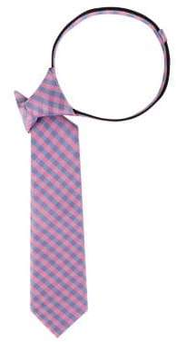 Lord & Taylor Boy's Christopher Check Silk Tie