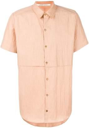 Individual Sentiments layered shortsleeved shirt
