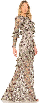 Alexis Essense Embroidered Gown