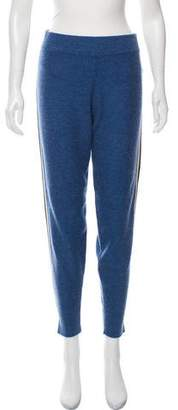 Veda Cashmere Zone Leather Trim Pants w/ Tags