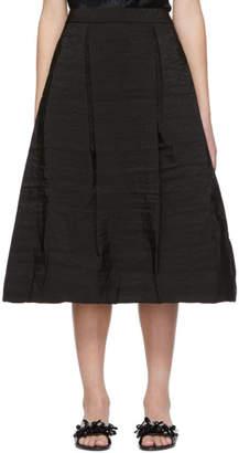Simone Rocha Black Tulip Skirt