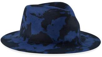 cf09be91669ce New Era Wide-Brim Tie-Dye Wool Felt Fedora