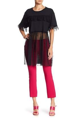 Anna Sui Chasing Hearts Mesh Tunic