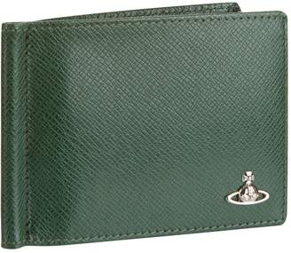 Vivienne Westwood Leather Wallet with Money Clip
