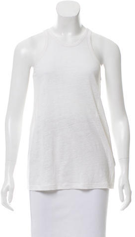 Alexander Wang T by Alexander Wang Linen Sleeveless Top w/ Tags