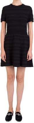 The Kooples Scalloped Fit--Flare Dress