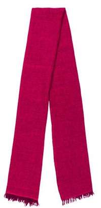 Neiman Marcus Knitted Cashmere Scarf
