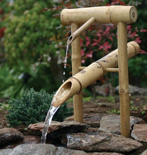 Bamboo Deer Chaser Fountain