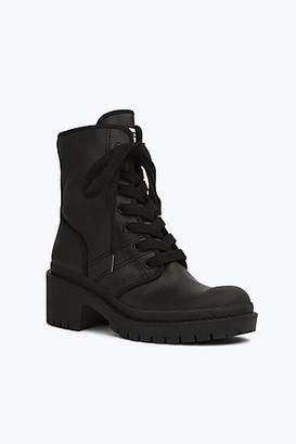 CONTEMPORARY Bristol Canvas Lace Up Boot