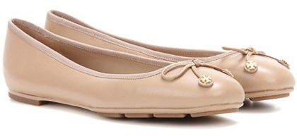 Tory Burch Tory Burch Laila Driver Leather Ballerinas