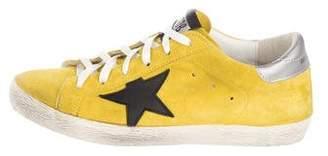Golden Goose Suede Low-Top Sneakers