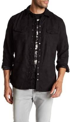 Rogue Woven Snap Button Slim Fit Shirt