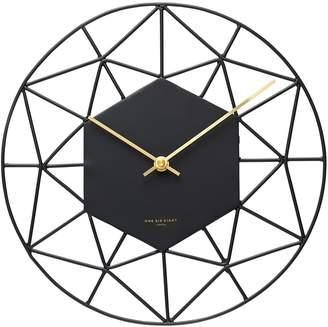 One Six Eight London Florin Silent Wall Clock, 30cm, Charcoal Ll