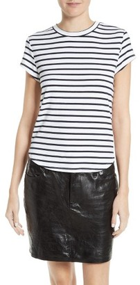 Women's Frame Stripe Tee $109 thestylecure.com