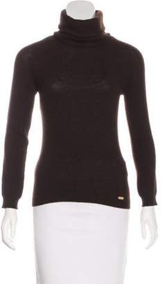 Chanel Cashmere Knit Sweater Brown Cashmere Knit Sweater