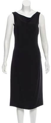 Gianni Versace Silk Midi Dress