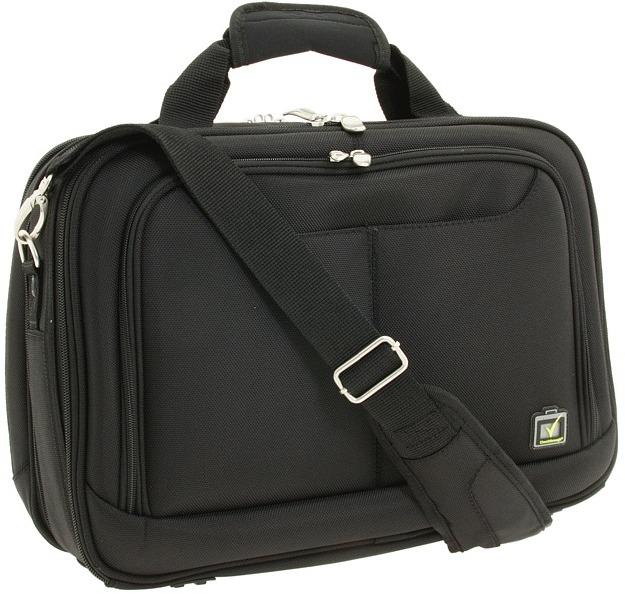 Skooba Design Checkthrough Executive Brief, Small (Black) - Bags and Luggage