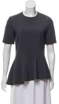Stella McCartney Short Sleeve Peplum Top w/ Tags