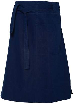A.P.C. Belted Midi Skirt