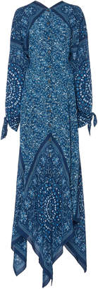 Altuzarra Northwest Printed Silk Maxi Dress