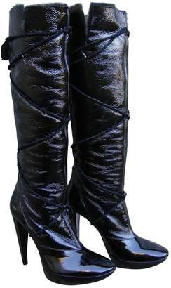 Roger Vivier Black Patent leather Boots