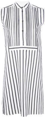 Victoria Beckham Victoria striped sleeveless dress