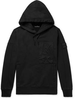 Stone Island Shadow Project Fleece-Back Cotton-Jersey Hoodie