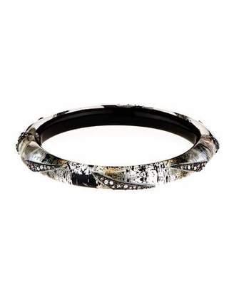 Alexis Bittar Crystal Origami Hinge Bracelet $225 thestylecure.com