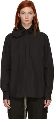Craig Green Black Poplin Hooded Shirt