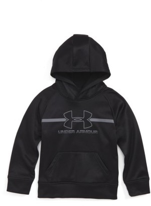 Toddler Boy's Under Armour Logo Hoodie $39.99 thestylecure.com