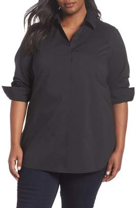 Foxcroft Vera Solid Tunic