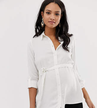 Mama Licious Mama.Licious Mamalicious maternity woven shirt