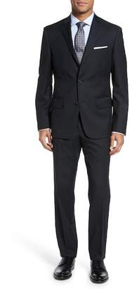 Nordstrom Classic Fit Check Wool Suit