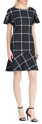 Lauren Ralph Lauren Plaid Fit-&-Flare Dress