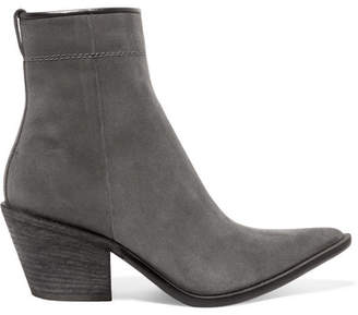 Haider Ackermann Suede Ankle Boots - Anthracite