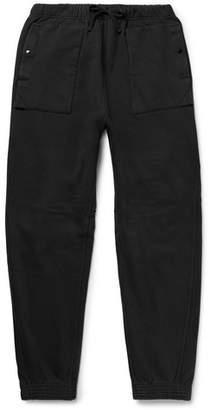 Stone Island Shadow Project Tapered Fleece-Back Cotton-Jersey Sweatpants