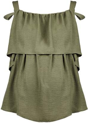 Dorothy Perkins Womens **Maternity Khaki Nursing Camisole Top