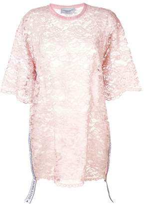 Couture Forte Dei Marmi sheer lace dress