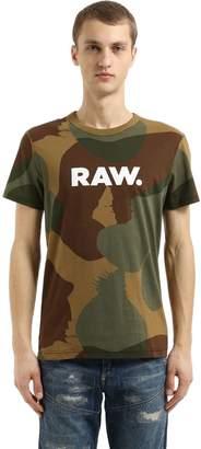 G Star Zost Mbc Camo Print Jersey T-Shirt