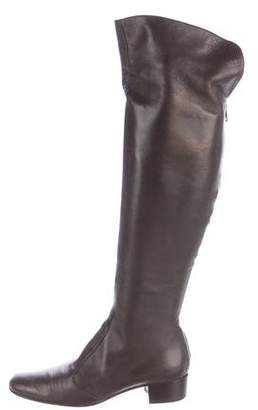 NDC Leather Over-The-Knee Boots