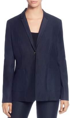 T Tahari Wendy One-Button Blazer