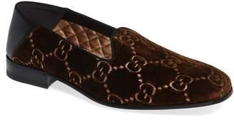 Gucci GG Velvet Loafer