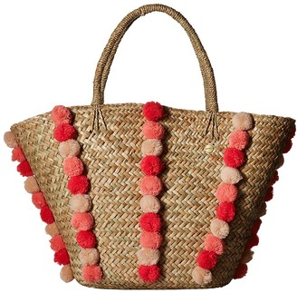 Seafolly - Pom Pom Beach Basket Bags $102 thestylecure.com