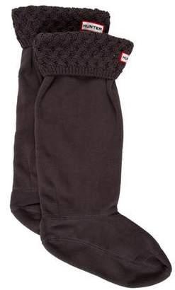 Hunter Logo Fleece Socks