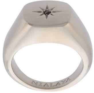 Nialaya Jewelry Skyfall Starburst Signature ring