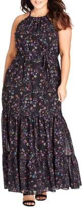 City Chic Sweet Dreams Maxi Dress