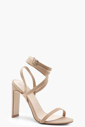 639da46f3 Beige Wrapped Heel Sandals For Women - ShopStyle UK