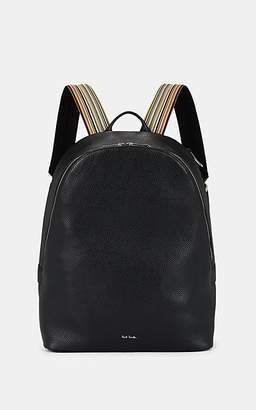 Paul Smith Men's Leather Backpack - Black